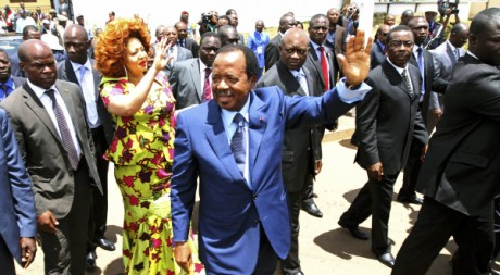 Paul Biya le jour de l'élection(2011) REUTERS/Akintunde Akinleye