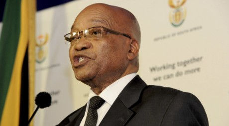 Le président Jacob Zuma à Prétoria, le 24 octobre 2011. REUTEURS/ Ho New