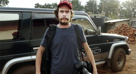Johan Persson, journaliste inculpé de terrorisme en Ethiopie, le 12 novembre 2010. Scanpix Sweden/AFP