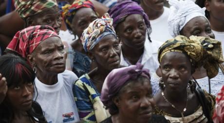 Un meeting du candidat de l'opposition Winston Tubman, Monrovia, 5 novembre 2011. REUTERS/Finbarr O'Reilly.