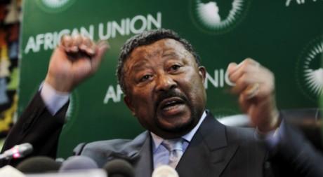 Jean Ping, le président de la commission de l'Union Africaine, à Addis Abeba, le 29 janvier 2011.