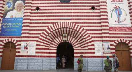 La cathédrale de Cotonou, capitale économique du Bénin, le 17 novembre 2011. REUTERS/Finbarr O'Reilly