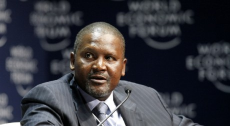 Aliko Dangote, l'homme le plus riche d'Afrique selon Forbes. REUTERS/Mike Hutchings