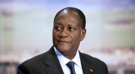 Alassane Ouattara, le 13 septembre. REUTERS/Pool New