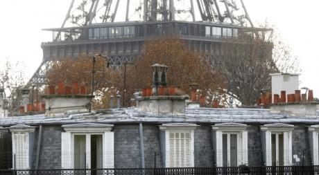 Les toits de Paris. REUTERS/Mal Langsdon