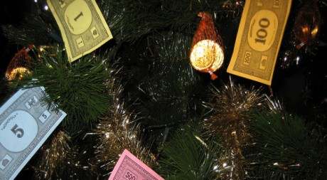 Monopoly de Noël, by Howard Lake via Flickr CC