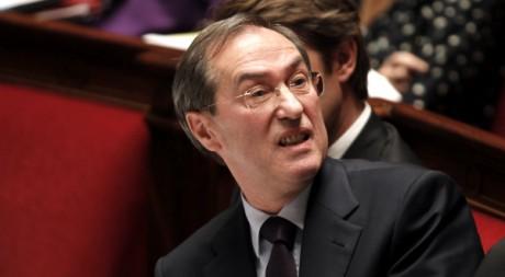 Claude Guéant à l'Assemblée nationale, le 18 octobre 2011. REUTERS/Charles Platiau