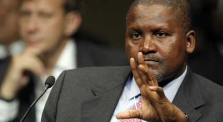 Aliko Dangote, PDG du Dangote Group, le 5 juin 2008. REUTERS/Mike Hutchings