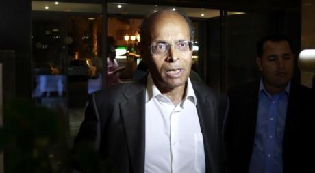 Moncef Marzouki, le 25 octobre 2011 à Tunis. REUTERS/ Zoubeir Souissi