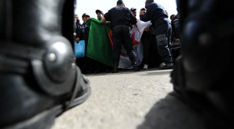 Manifestation à Alger le 7 mars 2011. AFP/FAROUK BATICHE