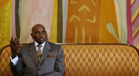Le président Abdoulaye Wade le 8 mars 2008 à Dakar. Reuters / Finbarr O'Reilly