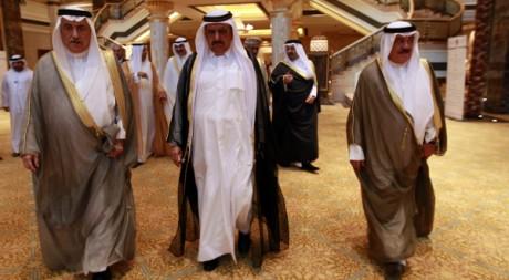 Le ministre des Finances des Emirats Arabes Unis en Arabie Saoudite, le 22 octobre 2011. Reuters/Jumana El-Heloueh