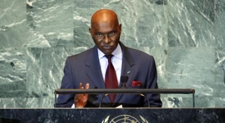 Abdoulaye Wade à l'Assemblée générale des Nations Unies, le 21 septembre. REUTERS/Chip East