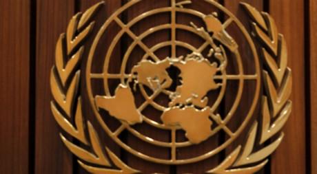 Emblème lors du 16e sommet de l'Union Africaine à Addis, 2011. © REUTERS/Thomas Mukoya  Abeba, Ethiopie.