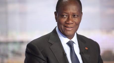 Alassane Ouattara  le 13 septembre 2011 à Paris. REUTERS