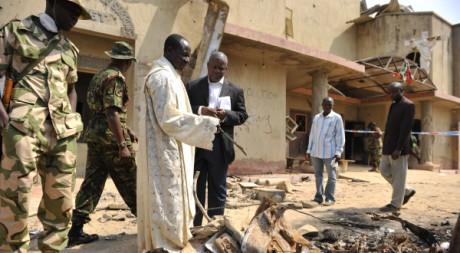 L'église Sainte Thérèse, à Madalla, près d'Abuja, le 25 décembre 2011. REUTERS/Afolabi Sotunde