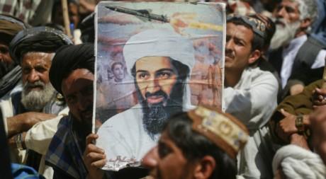 Des sympathisants d'Oussama Ben Laden le 6 mai 2011. Reuters/Naseer Ahmed