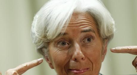 La directrice du FMI, Christine Lagarde à Brasilia, le 1er décembre 2011. REUTERS/ Ueslei Marcelino