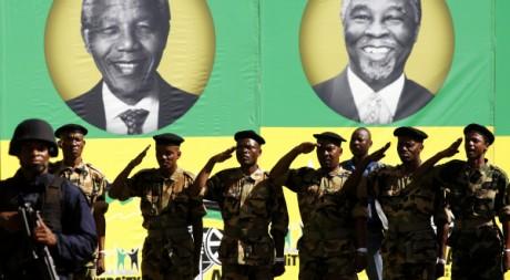 Le centenaire de l'ANC (Congrès national africain) REUTERS/SIPHIWE SIBEKO