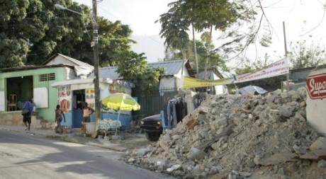 Dans les rues de Port-au-Prince, Haïti, décembre 2011. © Elodie Vilalle