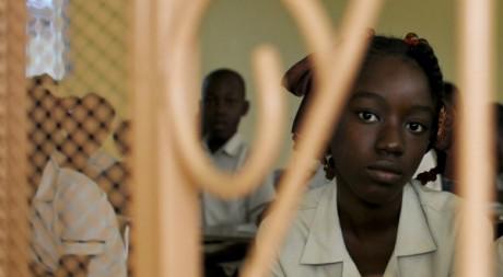 Des étudiants à Port-au-Prince le 10 janvier 2012.  Reuters/Swoan Parker