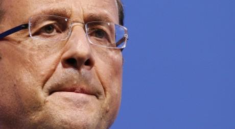François Hollande à Paris le 12 janvier 2012. REUTERS/Gonzalo Fuentes