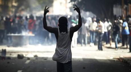 Manifestation à Dakar, le 23 juin 2011. REUTERS/ Finbarr O'Reilly