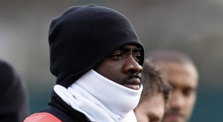 Kolo Touré, le 6 décembre 2011. REUTERS/Phil Noble
