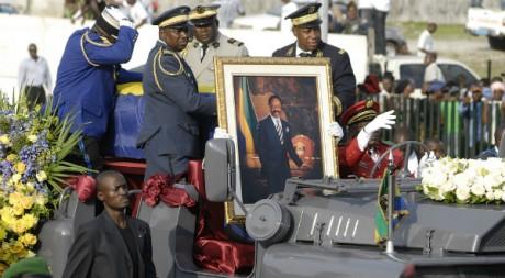Obsèques Omar Bongo, président gabonais, 2009, by Xavier Bourgois via Flickr CC