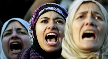 Manifestation contre l'armée au Caire le 20 janvier 2012. Reuters/Mohamed Abd El Ghany