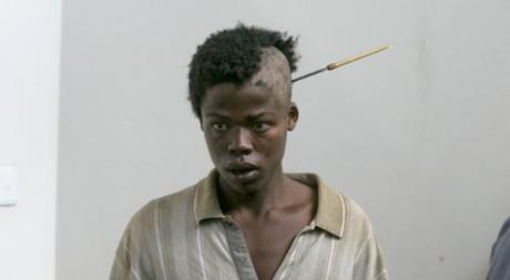 Un Kényan victime des affrontements ethniques à Nakuru le 27 février 2008. REUTERS/ Peter Andrews