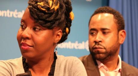 L'humoriste Dorothy Rhau et le comédien Benz Antoine, porte-parole du Mois de l'Histoire des Noirs © Marie Mbodji
