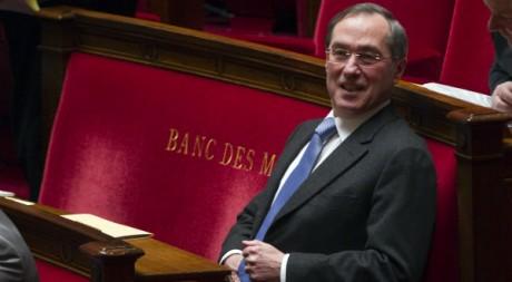 Claude Guéant, à l'Assemblée nationale, le 7 février 2012. REUTERS/Charles Platiau
