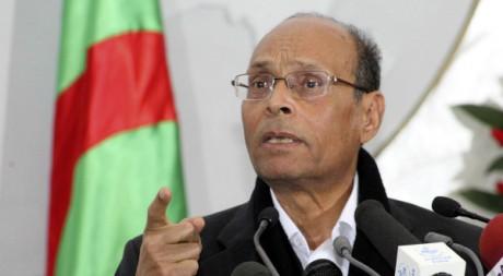 Visite officielle de Moncef Marzouki à Alger le 12 février 2012. Reuters/Stringer