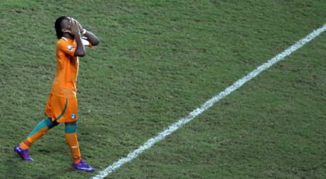 L'emblématique capitaine Didier Drogba a perdu sa deuxième finale de CAN. REUTERS/Amr Dalsh.