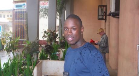 Ange Badou, le 23 août 2008.