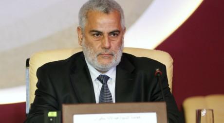 Abdelilah Benkirane, le Premier ministre marocain à Doha le 26 février 2012. Reuters/Mohamad Dabbouss