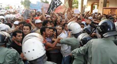 Manifestation à Rabat le 10 juillet 2011. AFP/ABDELHAK SENNA