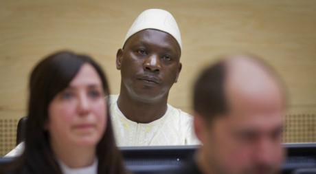 Thomas Lubanga à la Cour pénale internationale le 14 mars 2012. REUTERS/POOL New