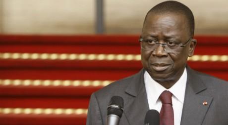 Le nouveau Premier ministre Me Jeannot Ahoussou-Kouadio à Abidjan le 14 mars 2012. Reuters/Thierry Gouegnon