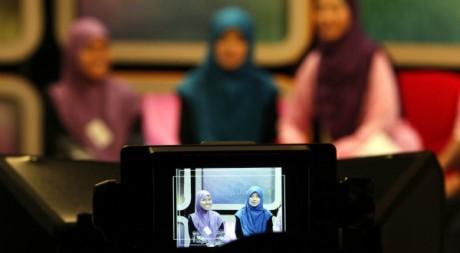 Plateau de télévision le 18 juin 2011. Reuters/Bazuki Muhammad