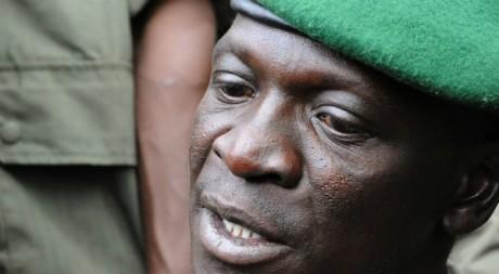 Le chef de la junte au pouvoir, Amadou Sanogo AFP PHOTO / HABIBOU KOUYATE