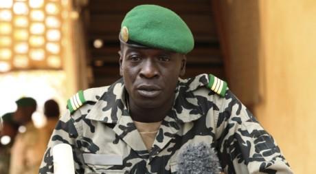 Amadou Sanogo, le chef de la junte malienne le 30 mars. REUTERS/ Luc Gnago.