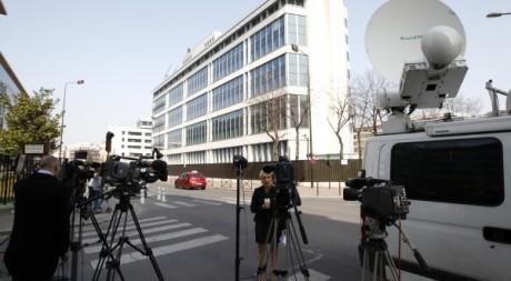 Siège de la DCRI (Direction centrale du renseignement intérieur) à Levallois Perret, le 24 mars 2012. REUTERS/Gonzalo Fuentes