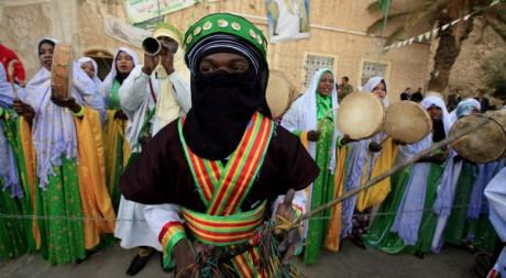 Touaregs libyens le 6 avril 2011. Reuters/Zohra Bensemra
