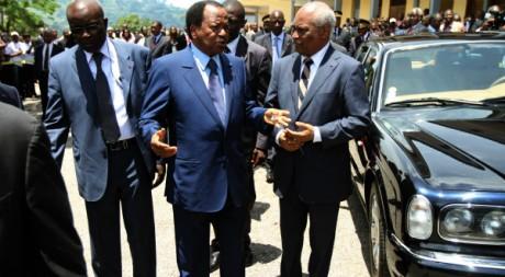 Paul Biya, le 9 octobre 2011 à Yaoundé. ©  REUTERS/Akintunde Akinleye