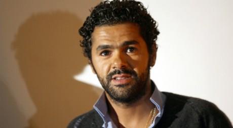 Jamel Debbouze, lors de la première du film Indigènes, Paris, 2006. © REUTERS/Charles Platiau