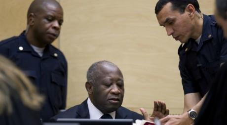 Laurent Gbago lors d'une audience à Cour pénale internationale, La haye, décembre 2011. © REUTERS/POOL New
