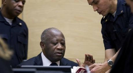 L'ancien président Laurent Gbagbo, à la Cour Pénale Internationale, La Haye, décembre 2011REUTERS/POOL New