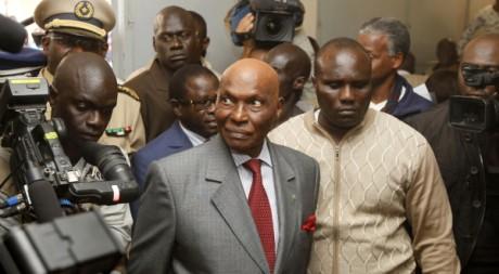 Abdoulaye Wade le 28 février à Dakar. REUTERS/Youssef Boudlal
